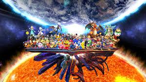 super smash bros wii u wallpapers super smash bros 4 complete roster by elemental aura on deviantart