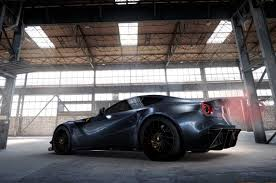 f12 weight f12 given carbonfibre makeover by tuner autocar