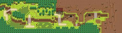 Hoenn Map Littleroot Explore Littleroot On Deviantart