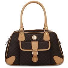 rioni signature brown shoulder bucket handbag free shipping