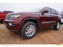 jeep red 2017 2017 velvet red pearl jeep grand cherokee laredo 4x4 117634710