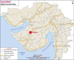 map of rajkot rajkot location map where is rajkot