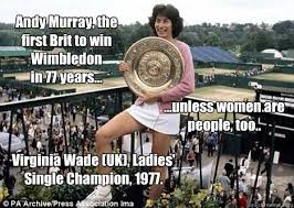 Andy Murray Meme - andy murray the first brit to win wimbledon in 77 years
