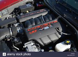 corvette z06 engine a 6 2 liter ls3 engine in a corvette z06 stock photo royalty free