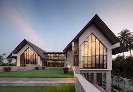 home exterior design studio gallery of baan klang suan forx design studio 27