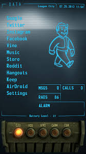 pipboy android this fantastic fallout pipboy homescreen lets you like it s 2299