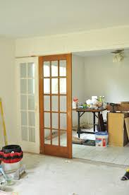 Room Divide Divide Your Space By Using French Doors As Room Dividers