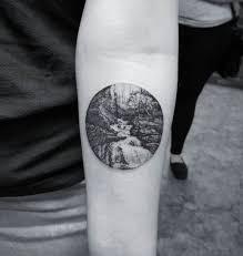 the 25 best scenery tattoo ideas on pinterest moonlight tattoo