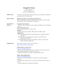 Mba Fresher Resume Sample by Resume Sample For Fresher Lecturer Templates