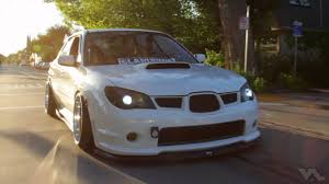 stancenation subaru wrx stancenation arctic beast damien grant u0027s bagged sti youtube