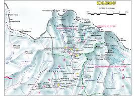 Himalayas On World Map by Everest Base Camp Trek Independent Himalayan Adventure