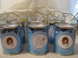 Centerpieces For Boy Baptism by Cute Idea For Communion Favors Or Centerpieces They Could Also Be