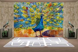 walls murals and floors cont bestbuilditems4sims2 peacock