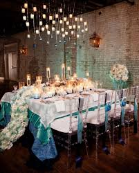 decoration mariage vintage décoration de mariage bleu turquoise
