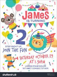 kids birthday party invitation card images invitation design ideas