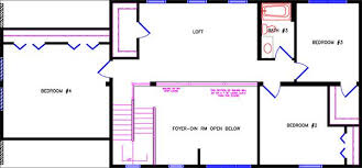 Colonial Open Floor Plans Colonial