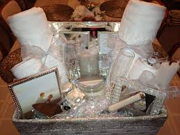 bridal shower gift baskets bridal shower basket idea wrapped in tulle for the mr mrs see