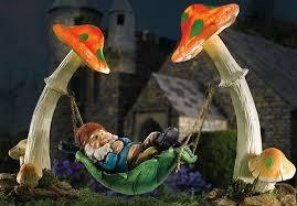 Solar Garden Ornaments Outdoor Decor Eco Friendly Solar Powered Pieces For Outdoor Decor Gnome Garden
