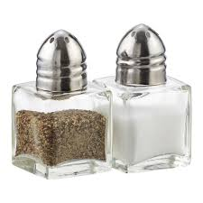 salt and pepper shakers 1 2 oz salt or pepper shaker the container store