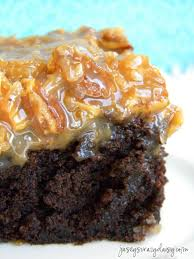 german chocolate brownies amazing 3 ingredient frosting