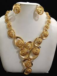 new gold set buy gold necklace set jewelry sets uae souq