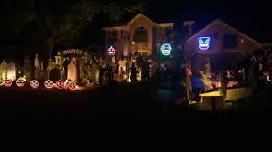 halloween light show 2014 kongos come with me now thomas