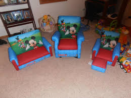 Mickey Mouse Chairs My Sons Mickey Mouse Clubhouse Furniture Includes Sofa Recliner