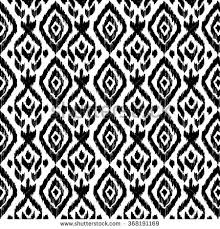 hand drawn ethnic seamless pattern wrapping stock vector 368191169