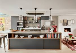 Kitchen Shelves Vs Cabinets Painted Kitchen Cabinet Ideas Freshome