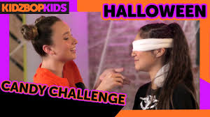 kidz bop kids halloween candy challenge youtube
