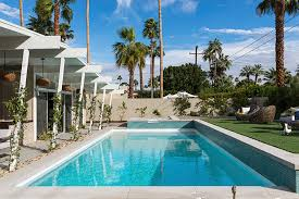 palm springs vacation house by home decor retailer west elm more than just a pool party