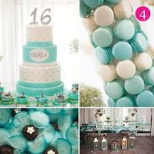Tiffany Color Party Decorations Breakfast At Tiffany U0027s Sweet 16 Party Tiffany U0027s Parties As
