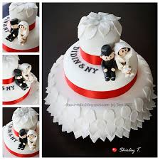 wedding cake sederhana dapur solia simple wedding cake