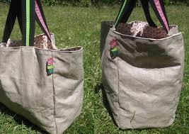 sac cabas en lin le sac cabas cerise en chaussettes