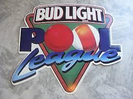 bud light tin signs vintage rare budweiser bud light beer bar tin metal pool league sign