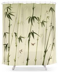 society6 bamboo forest shower curtain asian shower curtains