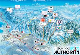 Utah County Parcel Map Map Of Ski Resorts In Utah New York Map