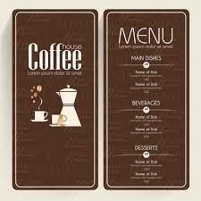 coffee menu templates free vector download 14 749 free vector