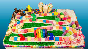 How To Decorate A Birthday Cake At Home How To Make A Candyland Cake From Cookies Cupcakes And Cardio