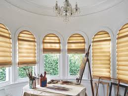 Circle Window Blinds Blinds Shades U0026 Shutters For Arched Windows Brutons Decorating