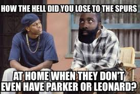 Spurs Meme - 19 best memes of james harden the rockets choking against the