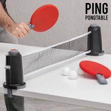 portable ping pong table buy apolyne portable ping pong table set at mighty ape nz