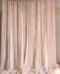 backdrop fabric blush pink white lace fabric gold sparkle photobooth backdrop