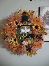 55 charming elegant thanksgiving wreath ideas season