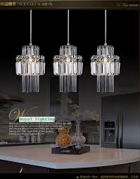 3 light pendant island kitchen lighting dining room pendant crystal lamp 3 lights hanging lighting