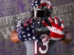 design gridiron jersey athletic department defends veterans day uniform design
