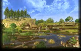 The Shire Map No Place For Spoiled Pies Spoiler Lord Of The Rings Online
