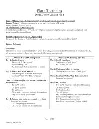 100 plate tectonic worksheet seafloor spreading worksheet