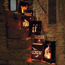 Scary Outdoor Halloween Decorations by Cute Halloween Luminaries Halloween Pinterest Pumpkin