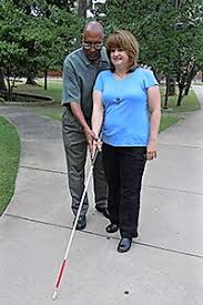 White Cane Blind An Introduction To Orientation And Mobility Skills Visionaware